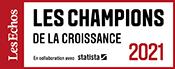 Infolegale dans le palmarès Les Echos Les Champions de la croissance 2021 !